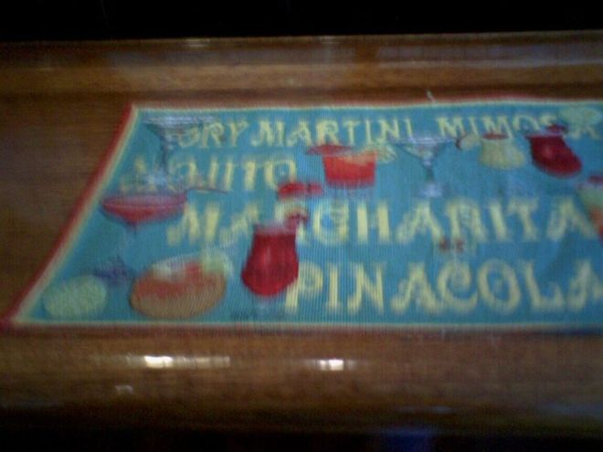 cocktail placemat in rohnert park 2006 10 7