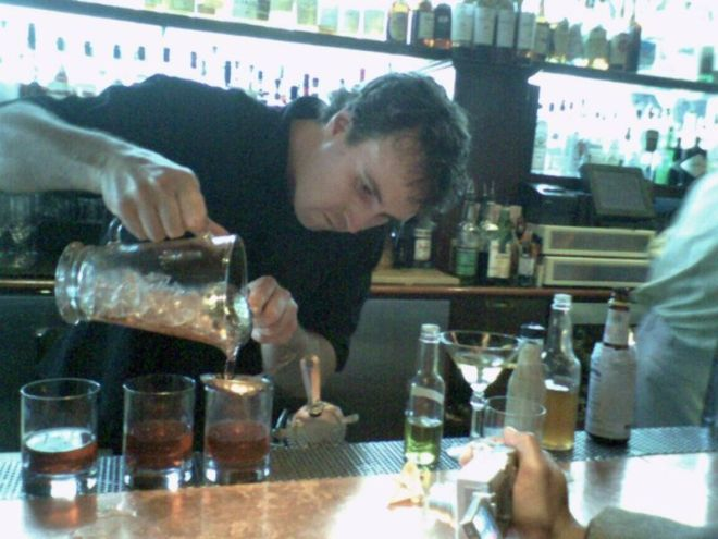 brian making sazeracs 2007 05 21